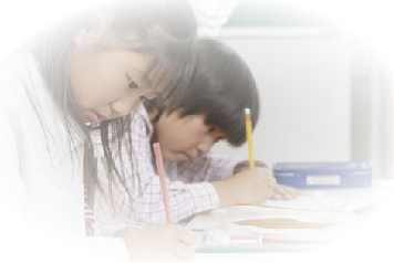 小学生学習中